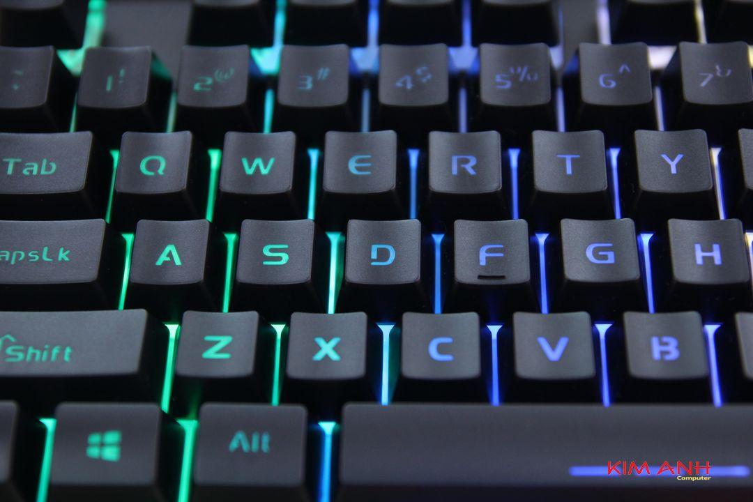 Bàn phím DAREU LK145 Gaming (led 7 màu)