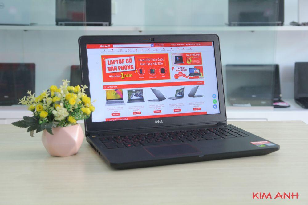 [99%] Dell Inspiron 5577-i7-7700HQ-RAM 8GB-SSD 120GB+HDD 1TB-GTX1050-FullHD