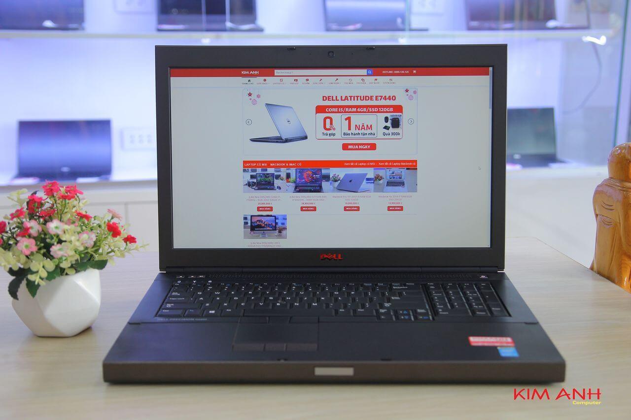 [99%] Dell Precision M6800-i7-4800MQ-RAM 8GB-HDD 500GB-K3100M-FullHD