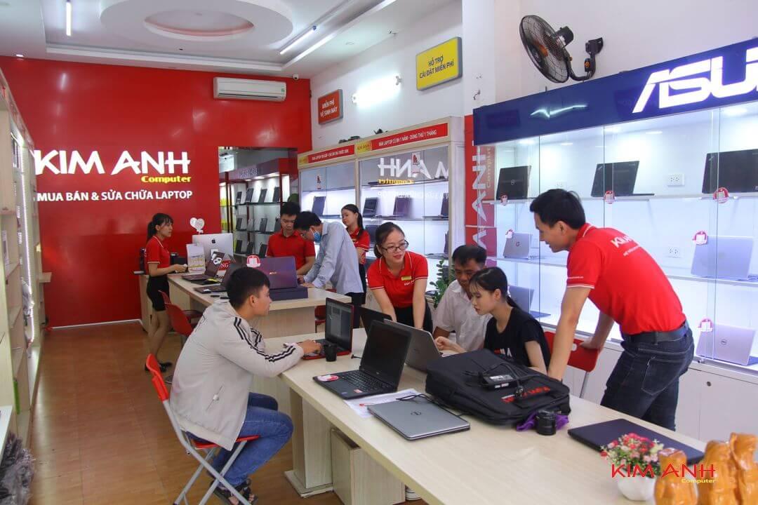 Đội ngũ nhân viên Kim Anh