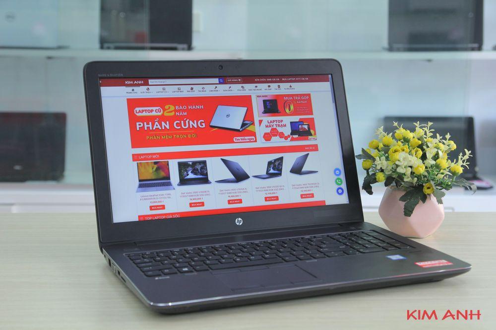 [99%] HP ZBook 15G3 i7-6820HQ RAM 8GB SSD 240GB VGA M1000M Full HD