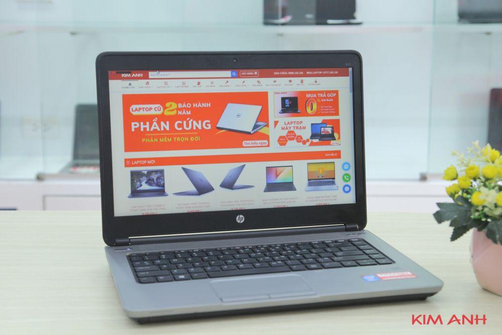 HP Elitebook 640G2 i5-6300U RAM 4GB SSD 120GB
