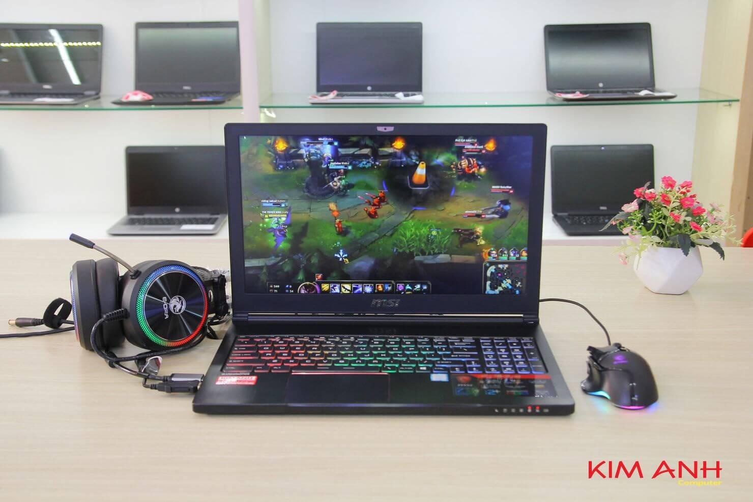 Laptop gaming MSI GS63