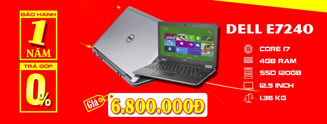laptop cũ dell e7240 i7