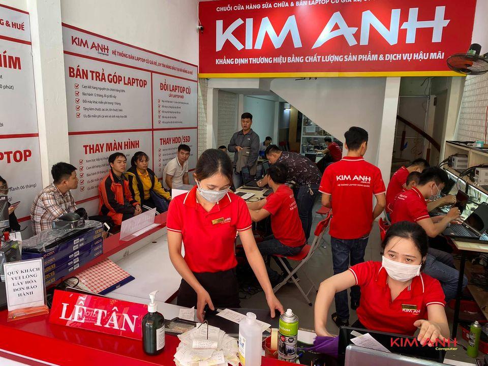 Hoạt động tại Trung tâm Kim Anh sửa chữa laptop 88 Hàm Nghi