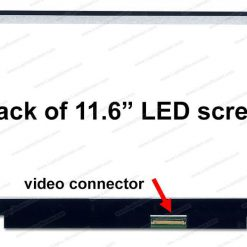 Thay màn hình laptop Toshiba L10 L15 11.6 slim 30 pin