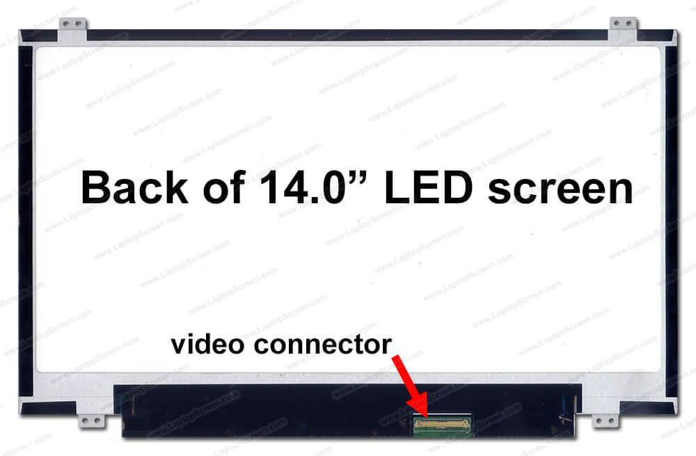 Thay màn hình laptop Acer v5-471 14.0 slim 40 pin