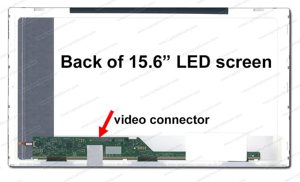 Thay màn hình laptop Acer 5810 15.6 led dày