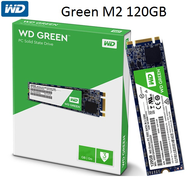 SSD M2Sata 120GB WD Green
